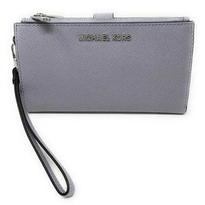 Michael Kors MK Jet Set Travel Phone Wallet Lilac